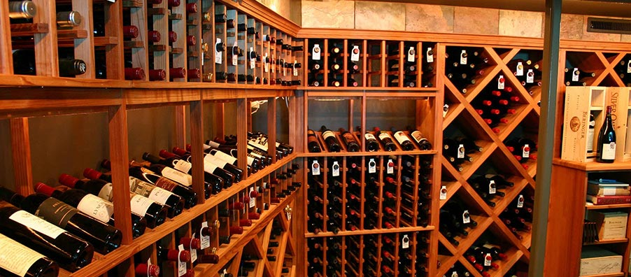 Custom wine cellars in northeast ohio wine cellar for Cost to build a wine cellar